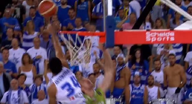 «Άγγιξε» την κορυφή ο Giannis