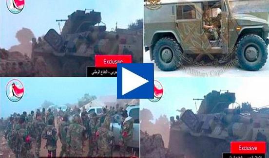 Ρώσοι στρατιώτες μάχονται στο πλευρό των δυνάμεων του Άσαντ (βίντεο) – Συρία