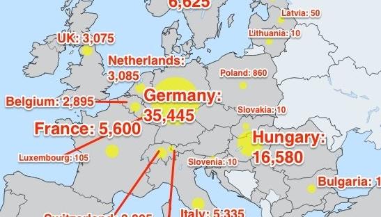 Ο πραγματικός παγκόσμιος χάρτης μετανάστευσης!! (Photo)