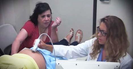 Νόμιζε ότι θα δει ένα φυσιολογικό μωρό στο υπερηχογράφημα, αντί γι'αυτό είδε