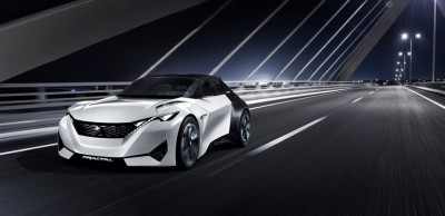 Εντυπωσίασε στην Φρανκφούρτη το ηλεκτρικό Fractal της Peugeot