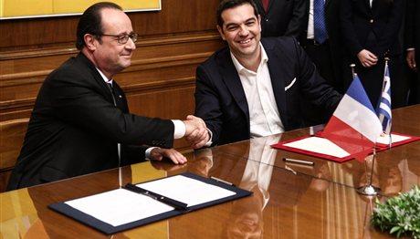 Η Ελληνογαλλική διακήρυξη συνεργασίας