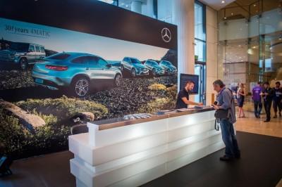 Όπου εξέλιξη, η Mercedes-Benz βρίσκεται εκεί!