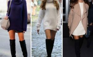 Over the Knee: Πώς να φορέσεις από τώρα τις αγαπημένες σου, ψηλές μπότες!