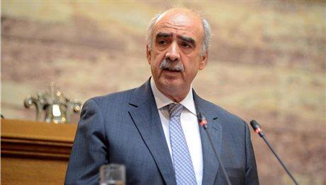 Η ΝΔ καταψηφίζει το πολυνομοσχέδιο, δήλωσε ο Β. Μεϊμαράκης