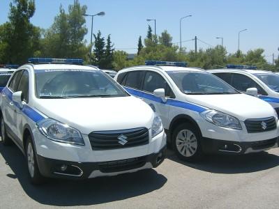 Η Ελληνική Αστυνομία επιλέγει Suzuki