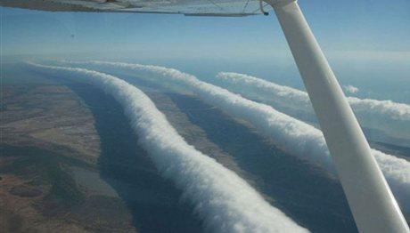 Παράξενα σύννεφα στον ουρανό! (photos)