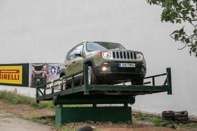 Jeep Renegade :  Με υπερτροφοδοτούμενο κινητήρα 1.4 και αυτόματο κιβώτιο 9 σχέσεων
