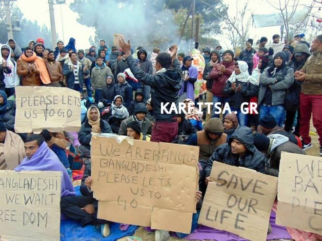 «Η Ελλάδα δεν είναι μόνη στο προσφυγικό»