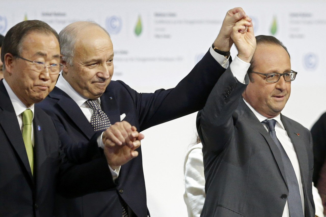 Ιστορική η συμφωνία του Παρισιού για το κλίμα- Σε ισχύ από το 2020
