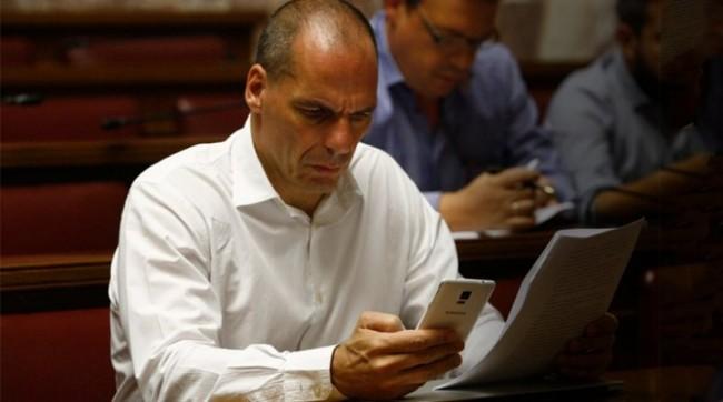 """Βαρουφάκης: Μια μικρή ομάδα με εντολή του πρωθυπουργού ετοίμαζε εναλλακτικό σχέδιο """"x"""""""