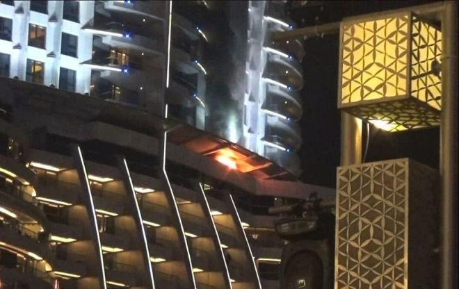 Από μια… κουρτίνα η πυρκαγιά στο ξενοδοχείο στο Ντουμπάι;