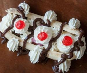 Βanana Split: Ανάρπαστο κλασσικό γλυκό!