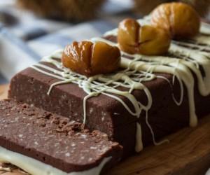 Πανέυκολο κέικ κάστανο χωρίς ψήσιμο!