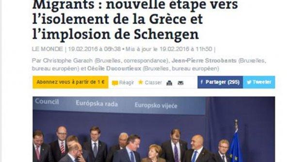 Le Monde: Η Ελλάδα κινδυνεύει ξανά με απομόνωση αν περάσει το Plan B για προσφυγικό
