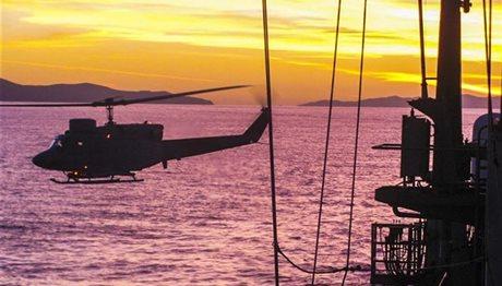 Τραγωδία στο Πολεμικό Ναυτικό – Βρέθηκαν δύο σοροί χειριστών του ελικοπτέρου