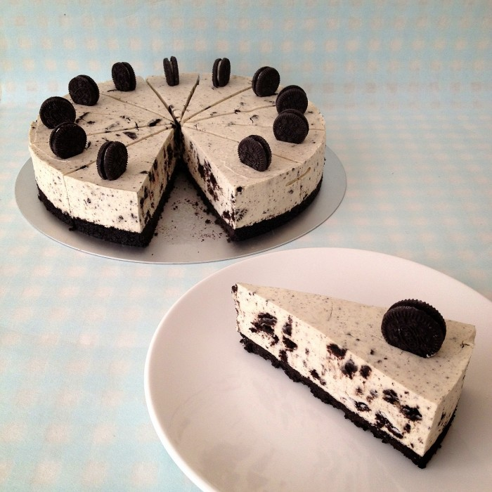 Oreo cheesecake λευκής σοκολάτας!
