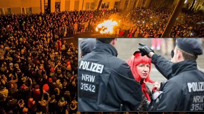 Τρόμος στη Γερμανία για τις σeξουαλικές επιθέσεις μεταναστών