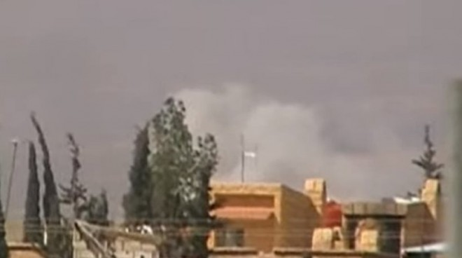 Νέοι βομβαρδισμοί στη Δαμασκό λίγες μόνο ώρες μετά την εκεχειρία