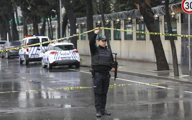 Υπό κράτηση 4 άτομα που φέρονται να σχετίζονται με την επίθεση στην Άγκυρα