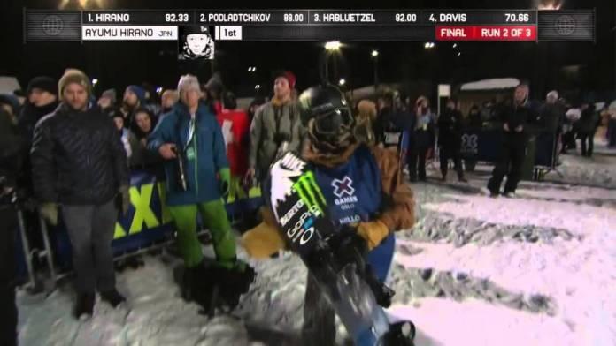 Απίστευτο show 17χρονου Ιάπωνα του χάρισε το χρυσό σε τουρνουά snowboard! (video)