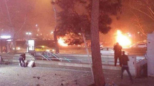 Αιματηρή έκρηξη στην Άγκυρα!