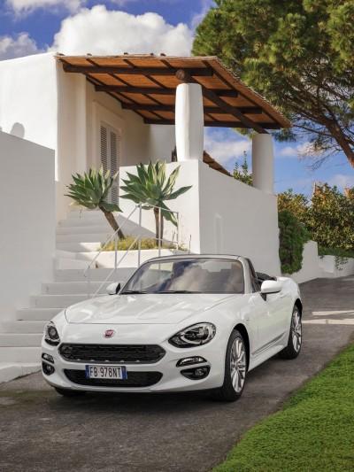Από σήμερα ξεκινάει το εμπορικό λανσάρισμα  στην ελληνική αγορά του νέου FIAT 124 Spider!