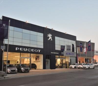 Στον Άλιμο η νεα κάθετη μονάδα Peugeot από την ΑΦΟΙ  ΚΑΛΛΙΑΝΤΑΣΗ Ε.Π.Ε.