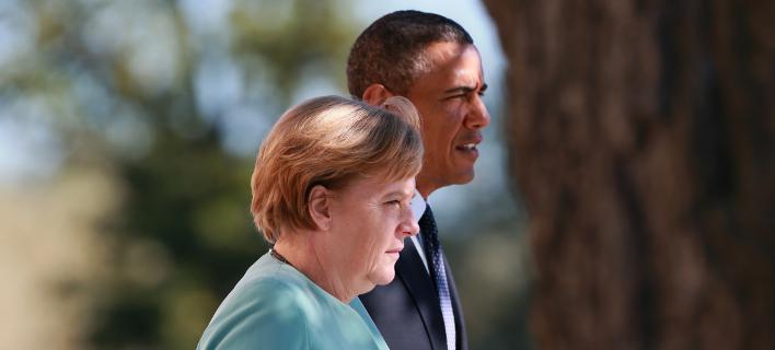 Ομπάμα σε Μέρκελ: Απαιτείται ελάφρυνση του ελληνικού χρέους