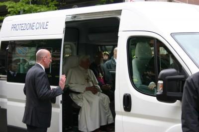 Αυτό είναι το αυτοκίνητο του Πάπα στη Λέσβο (ΦΩΤΟ)