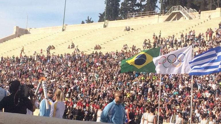 Στο Καλλιμάρμαρο η Ολυμπιακή Φλόγα