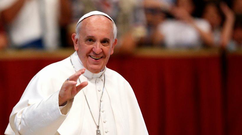 Στις 16 Απριλίου τελικά ο Πάπας στη Λέσβο