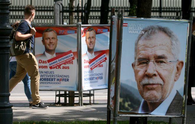 Ανακούφιση για την Αυστρία-Εξελέγη ο Πράσινος υποψήφιος έναντι του ακροδεξιού