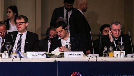 Αλ. Τσίπρας: Η ανθρωπιστική κρίση μπορεί να αντιμετωπιστεί μόνο με συνεργασία