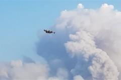 Μεγάλη πυρκαγιά καίει στη Βόρεια Εύβοια – Φωτιά και στο Παγγαίο Όρος