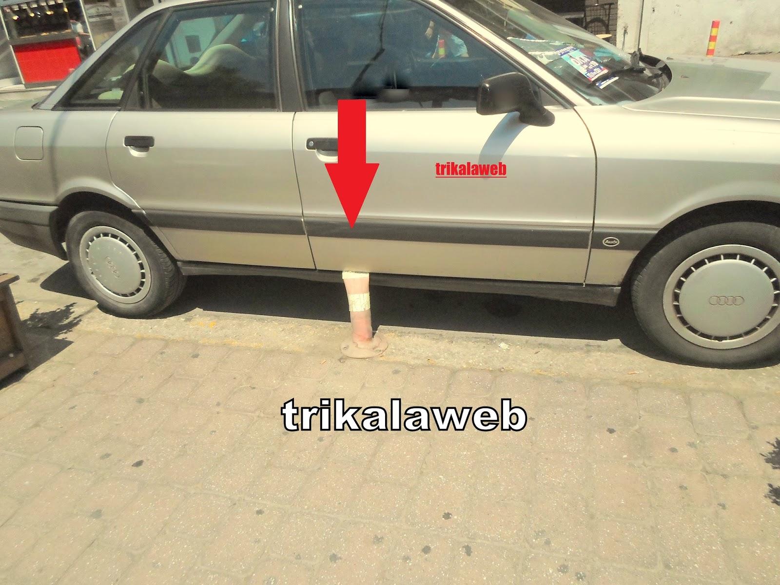 Το απίστευτο παρκάρισμα στα Τρίκαλα που έγινε viral!