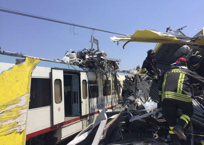Ανθρώπινο λάθος η πολύνεκρη σύγκρουση τρένων στην Ιταλία