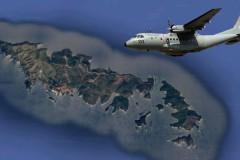 Υπερπτήση των Τούρκων πάνω από τα νησιά μας.