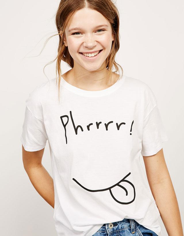 8e46ced0f23f Τα πιο cool και μοδάτα μπλουζάκια των Bershka με λιγότερα από 5 ευρώ!  Τρέξτε να