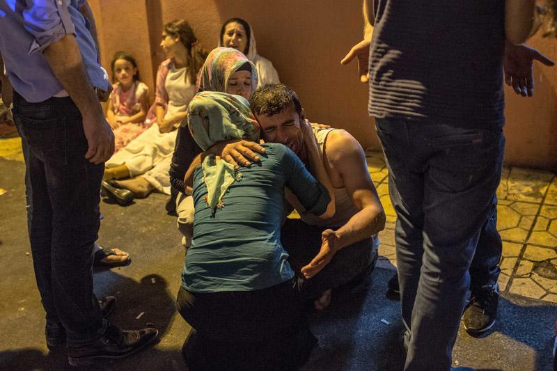 Τ. Ερντογάν: Τζιχαντιστές ή PKK πίσω από το μακελειό