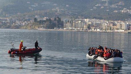 Ραγδαία η αύξηση των προσφυγικών ροών από την Τουρκία στην Ελλάδα