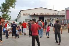 Ένταση μεταξύ προσφύγων και πληρώματος του ΕΚΑΒ στο Κιλκίς