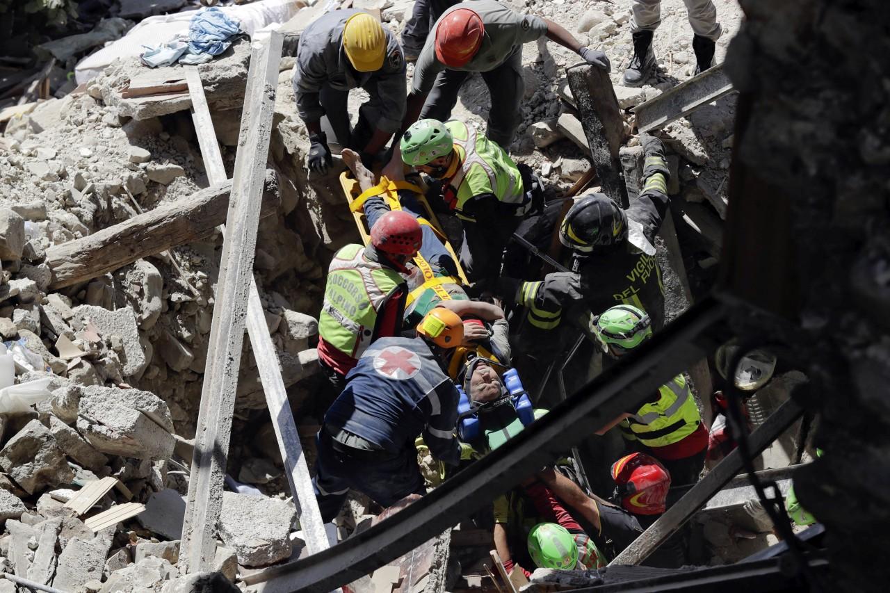 Συγκλονίζει το ηχητικό ντοκουμέντο από το σεισμό στην Ιταλία… φώναζαν για βοήθεια!