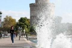 Καιρός στη Θεσσαλονίκη: Ανεβαίνει κι άλλο το θερμόμετρο!