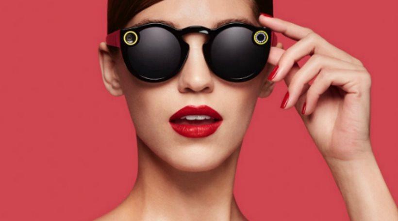 Το Snapchat δημιούργησε γυαλιά ηλίου με ενσωματωμένη κάμερα (βίντεο)