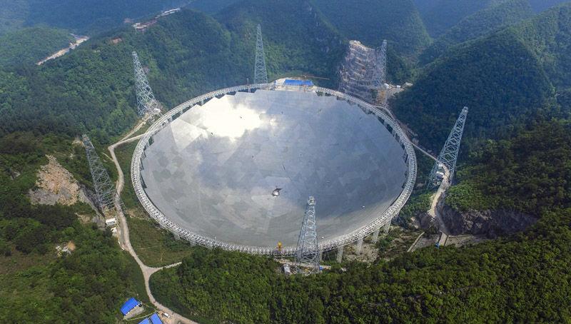 Κίνα: Εγκαινιάστηκε το μεγαλύτερο ραδιοτηλεσκόπιο του κόσμου