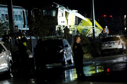 Εκτροχιασμός τρένου στο Λονγκ Άιλαντ, 29 τραυματίες