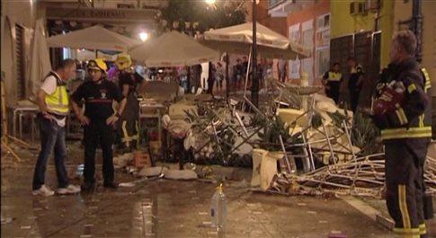 Ισπανία: Τουλάχιστον 77 τραυματίες από έκρηξη φιάλης υγραερίου!
