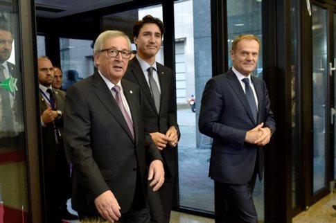 CETA: ΕΕ και Καναδάς υπέγραψαν τη διμερή συμφωνία ελεύθερου εμπορίου