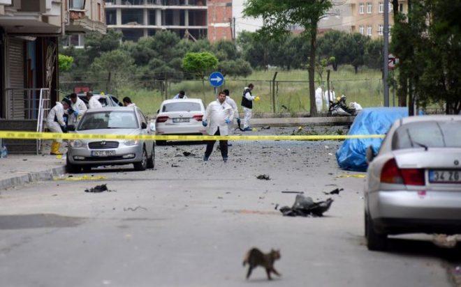 Επίθεση αυτοκτονίας σε αστυνομικό τμήμα της Τουρκίας